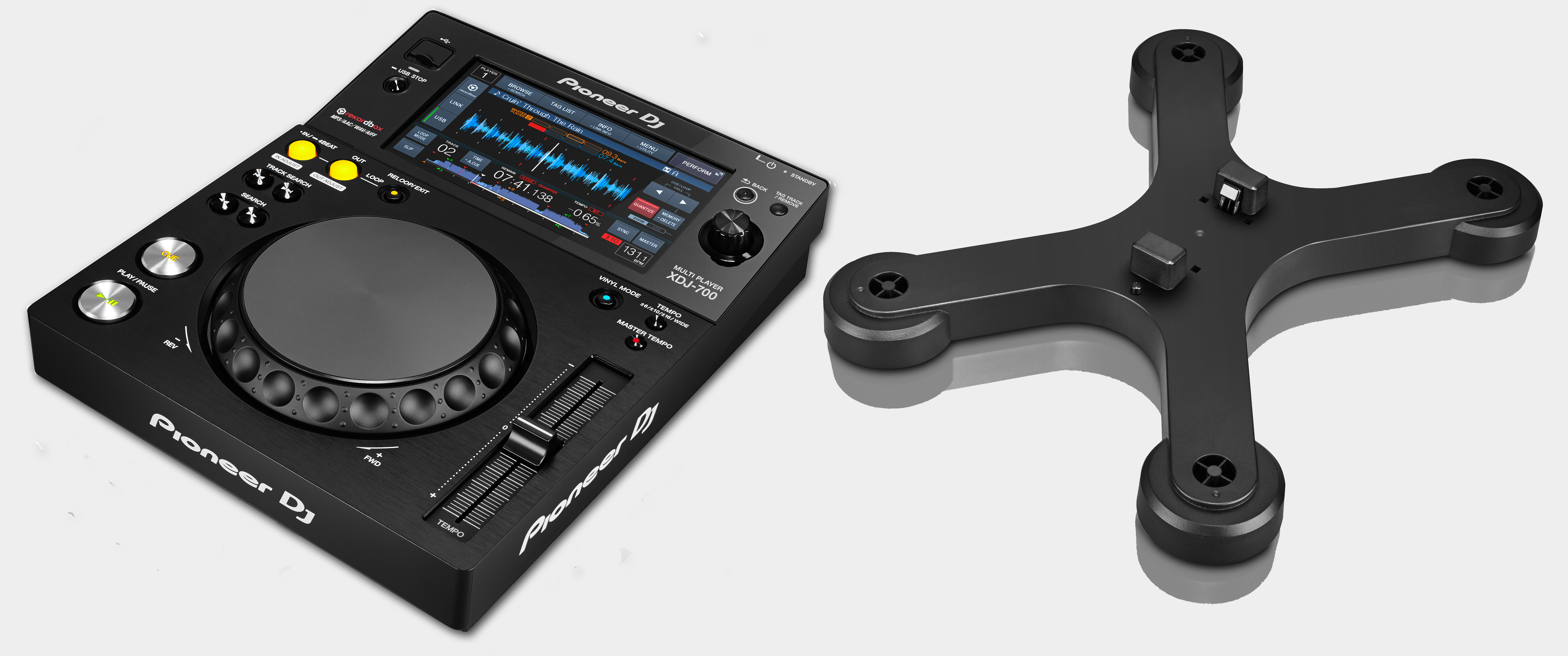 Pioneer XDJ-700 Player & Stand