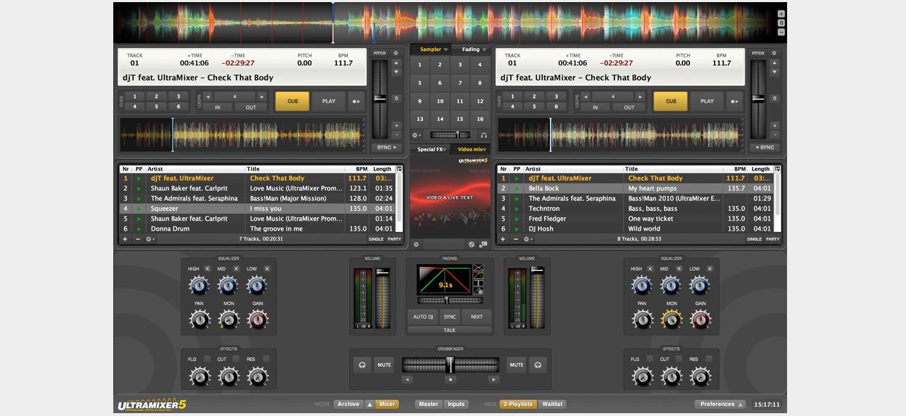 UltraMixer Professional V3 0 0 0 DVT