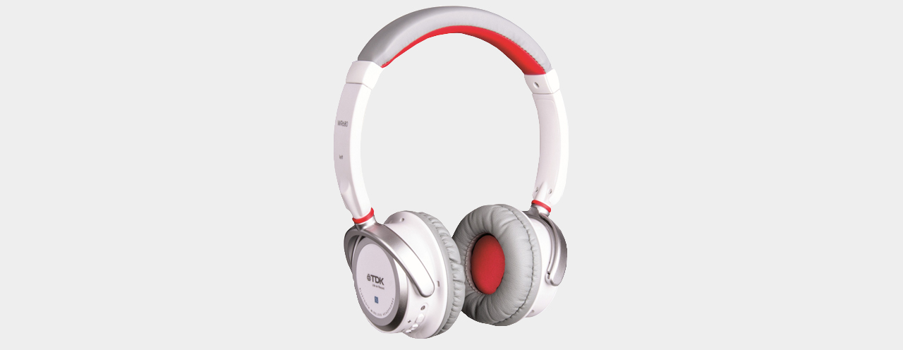 TDK WR680 Wireless OnEar White
