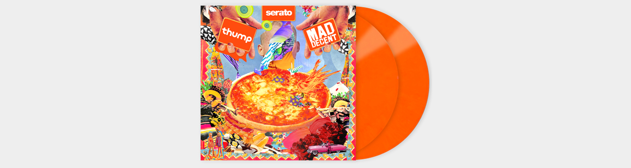 "Serato Artist Pressing 2x12"" Mad Decent x Thump Control Vinyl"