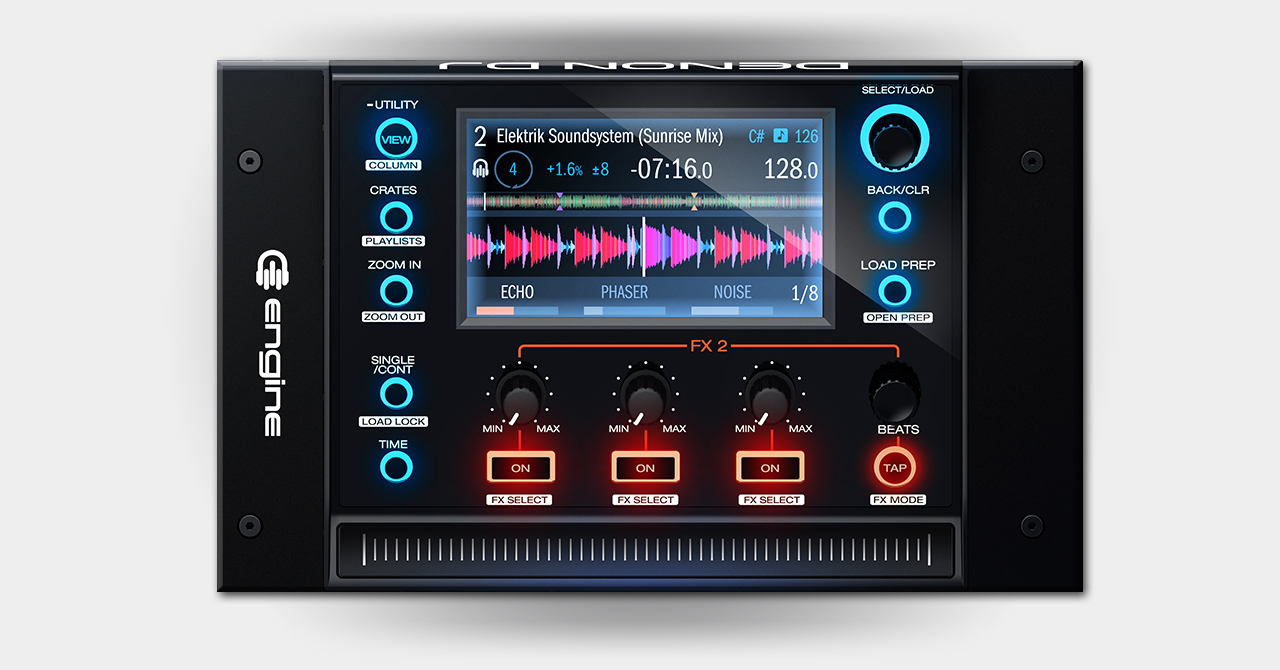 Denon - MCX8000 / Display