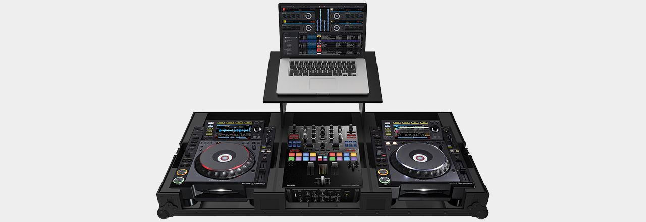 Zomo Set 2009 Plus NSE f. 1x DJM-S9 + 2x CDJ-2000 NXS + Laptop