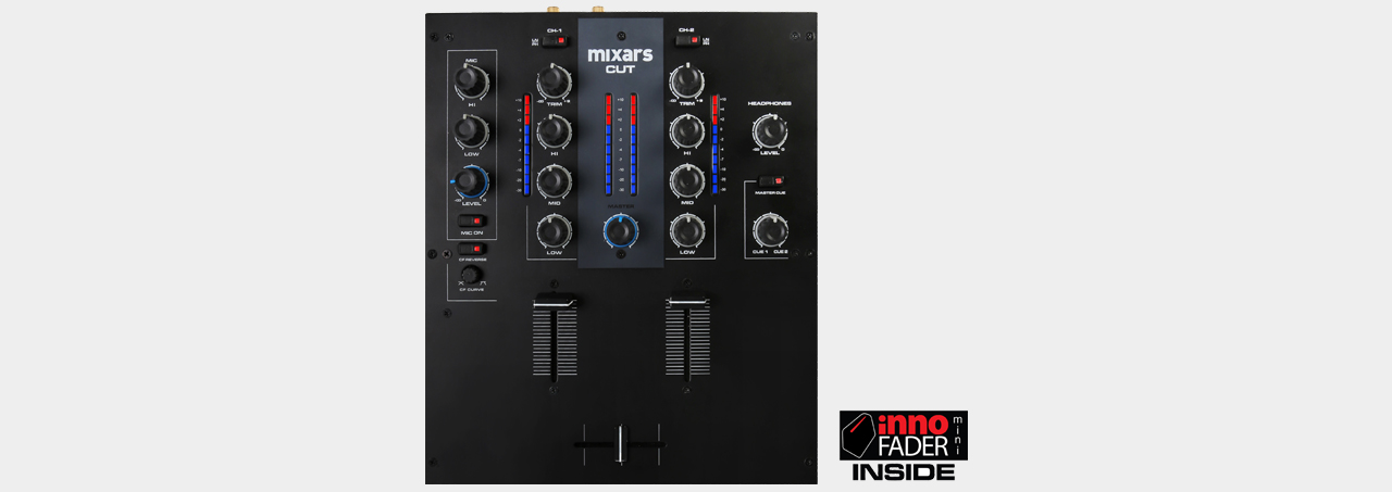 Mixars CUT The ultimate scratch Mixer with built in miniInnofader