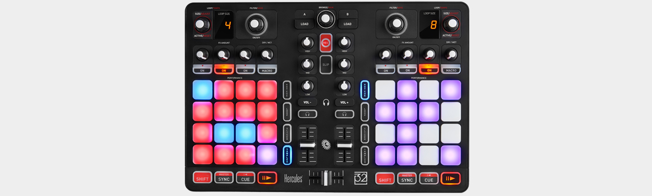 Hercules P32 DJ All-in-One Controller