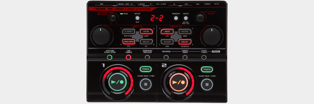 Boss - RC-202 Desktop Loop Station