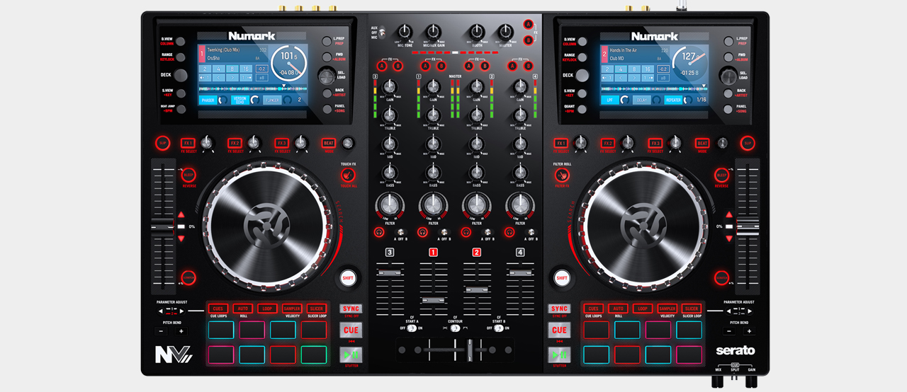 Numark NVII - Intelligent Dual-Display Controller for Serato DJ