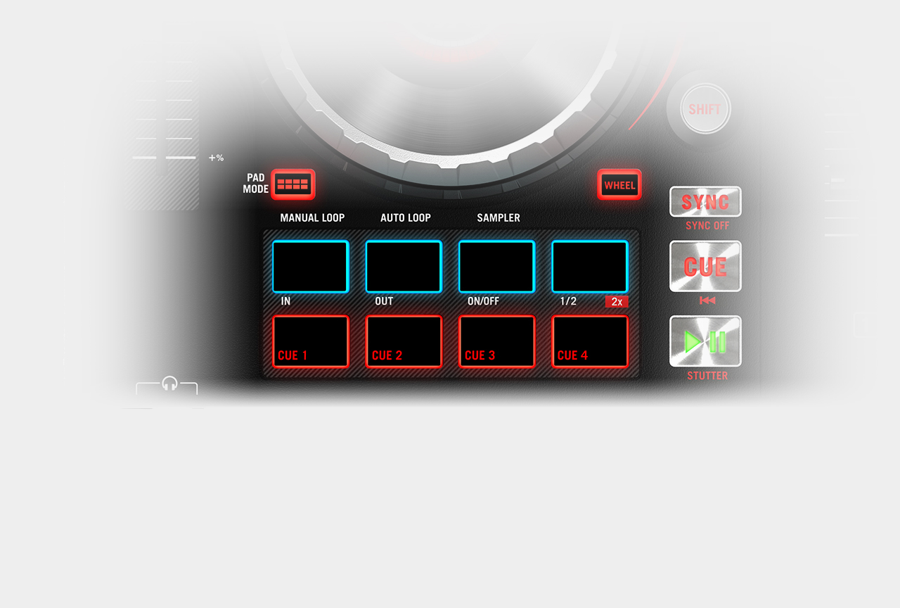 Numark Mixtrack Platinum / Performance Pads