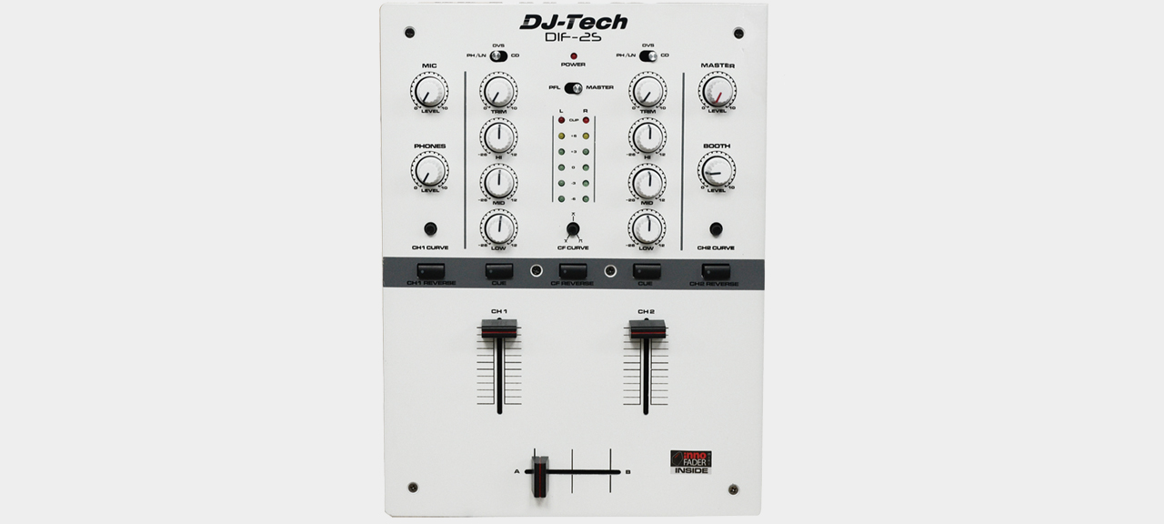 DJ-Tech DIF-2S White