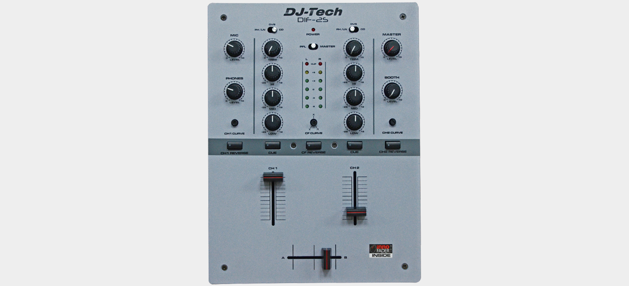DJ-Tech DIF-2S Grey