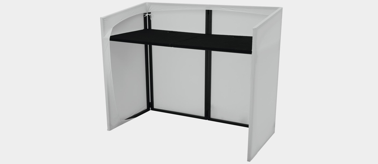 omnitronic mobile dj stand incl cover. Black Bedroom Furniture Sets. Home Design Ideas