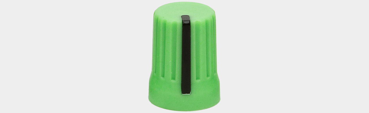 DJ Techtools Chroma Caps V2 90° Knob green