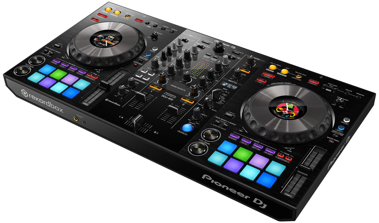 Pioneer DJ – DDJ-800 / Club-style-Layout und -Features