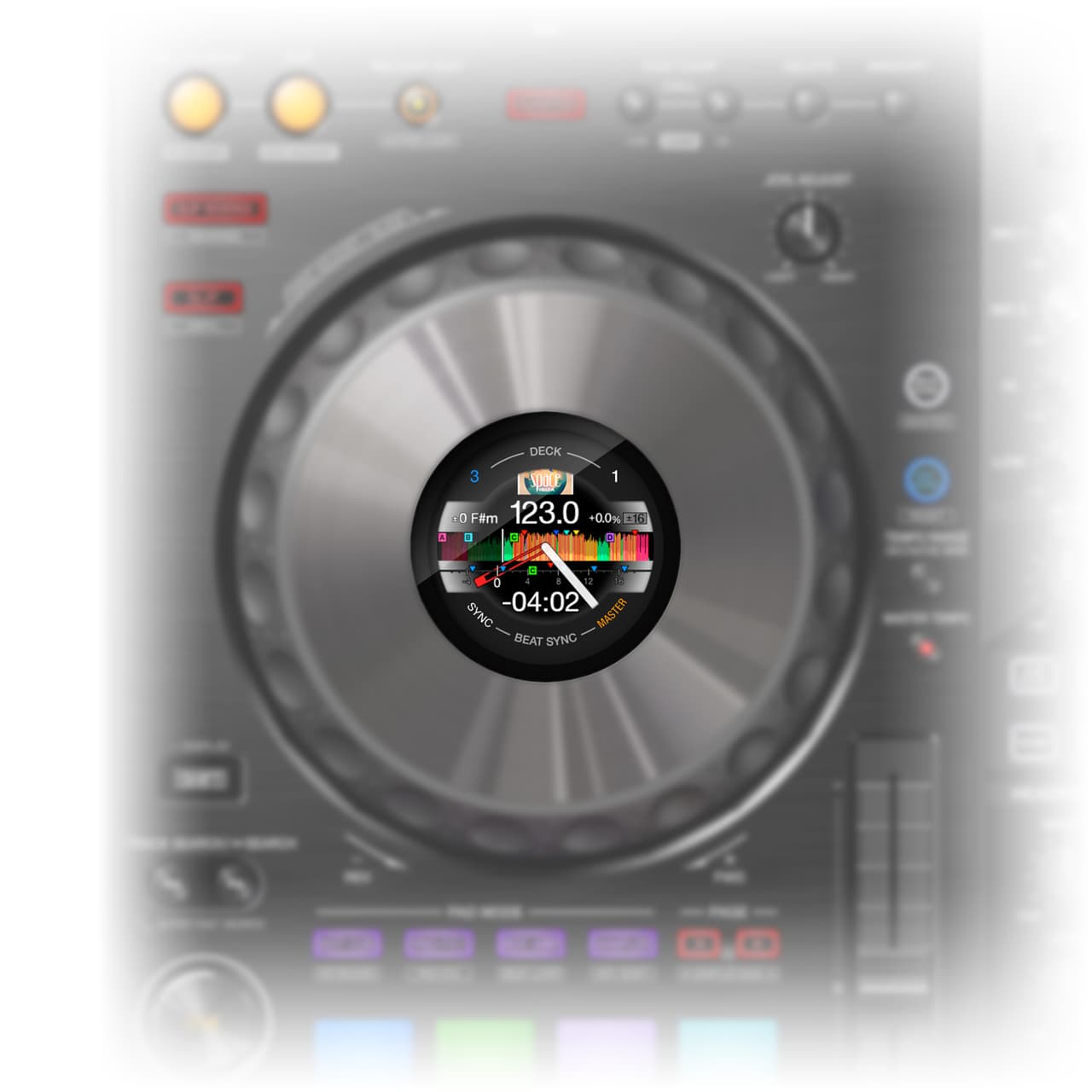Pioneer DJ – DDJ-800 / Color On Jog Display
