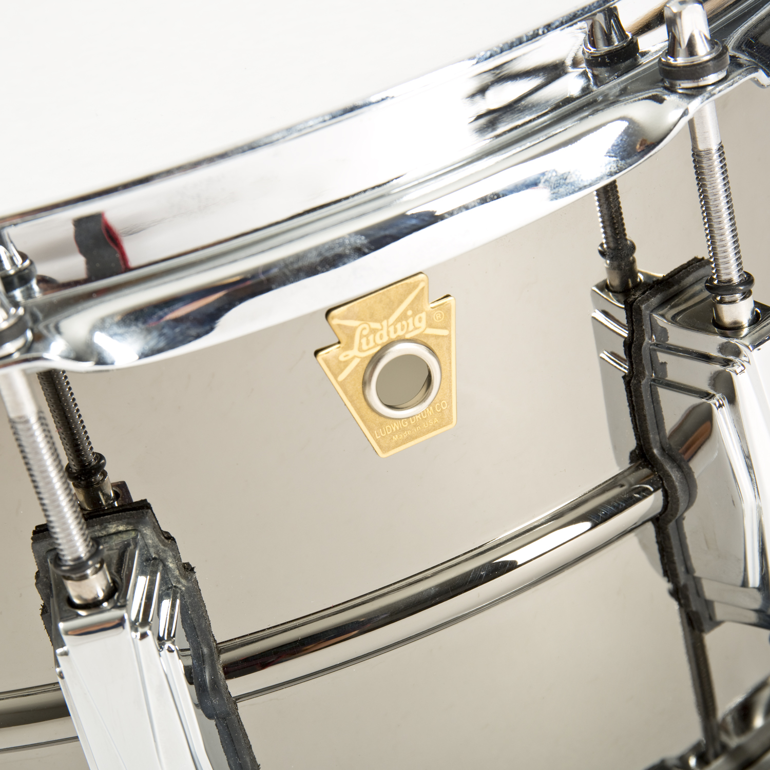 Ludwig Black Beauty Snare LB417 Badge