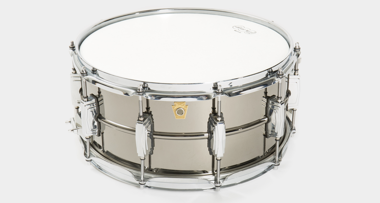 Ludwig Black Beauty Snare Drum LB417