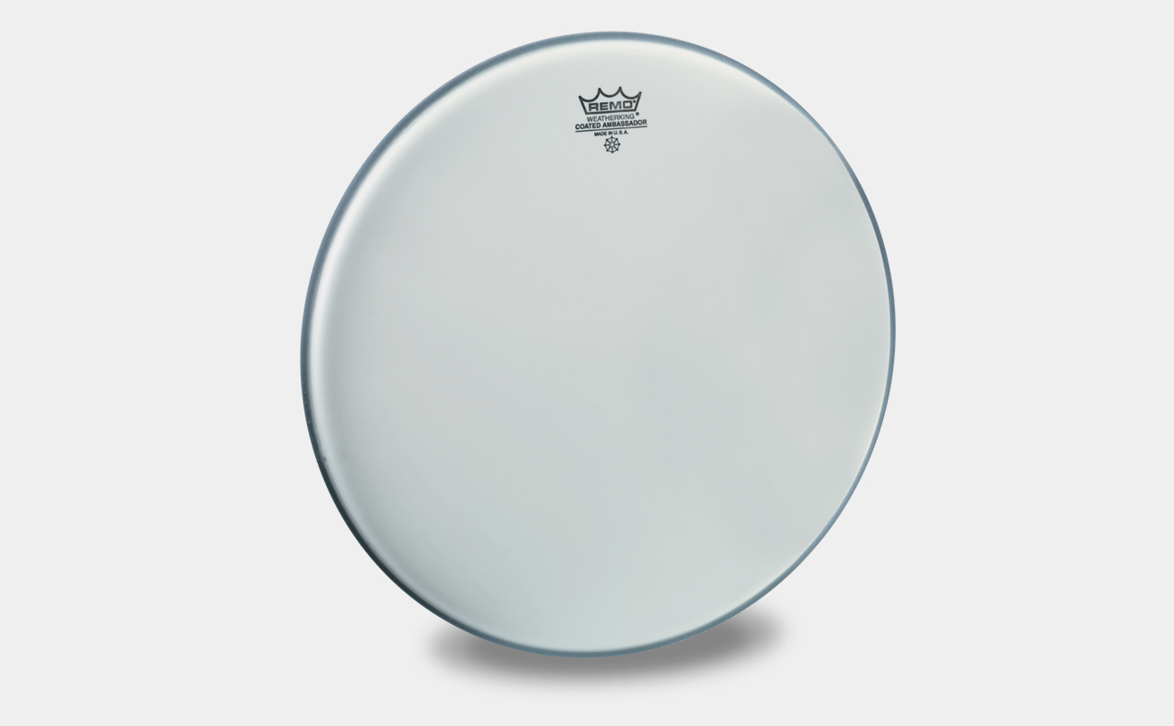 Remo Ambassador Coated 18""