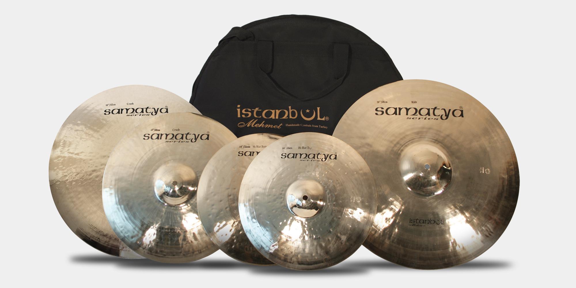 istanbul samatya cymbal set xl 20 r 16 cr 14 hh 18 cr bag. Black Bedroom Furniture Sets. Home Design Ideas