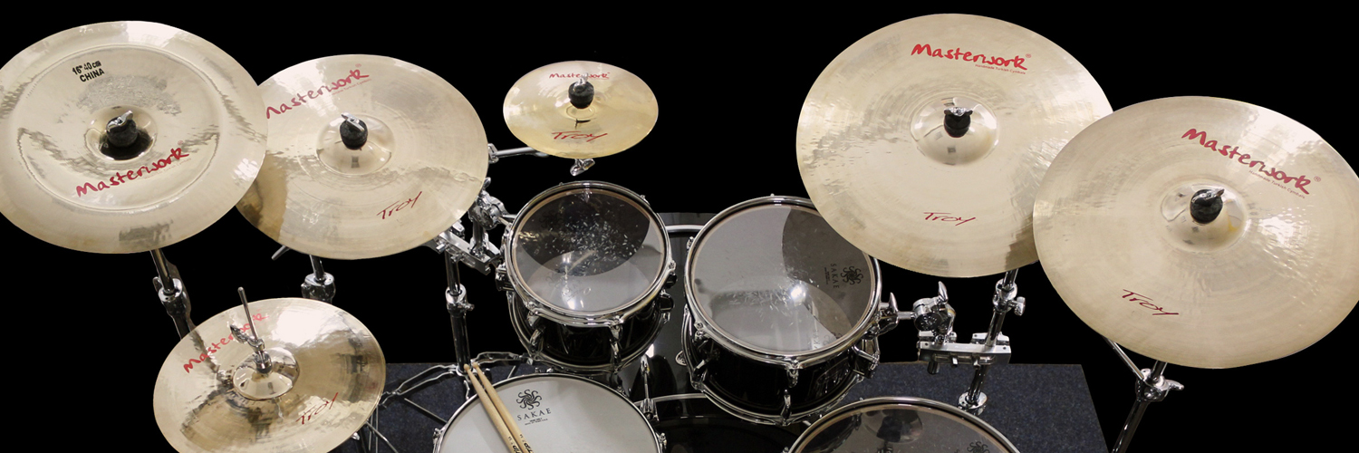 Troy_Drumset
