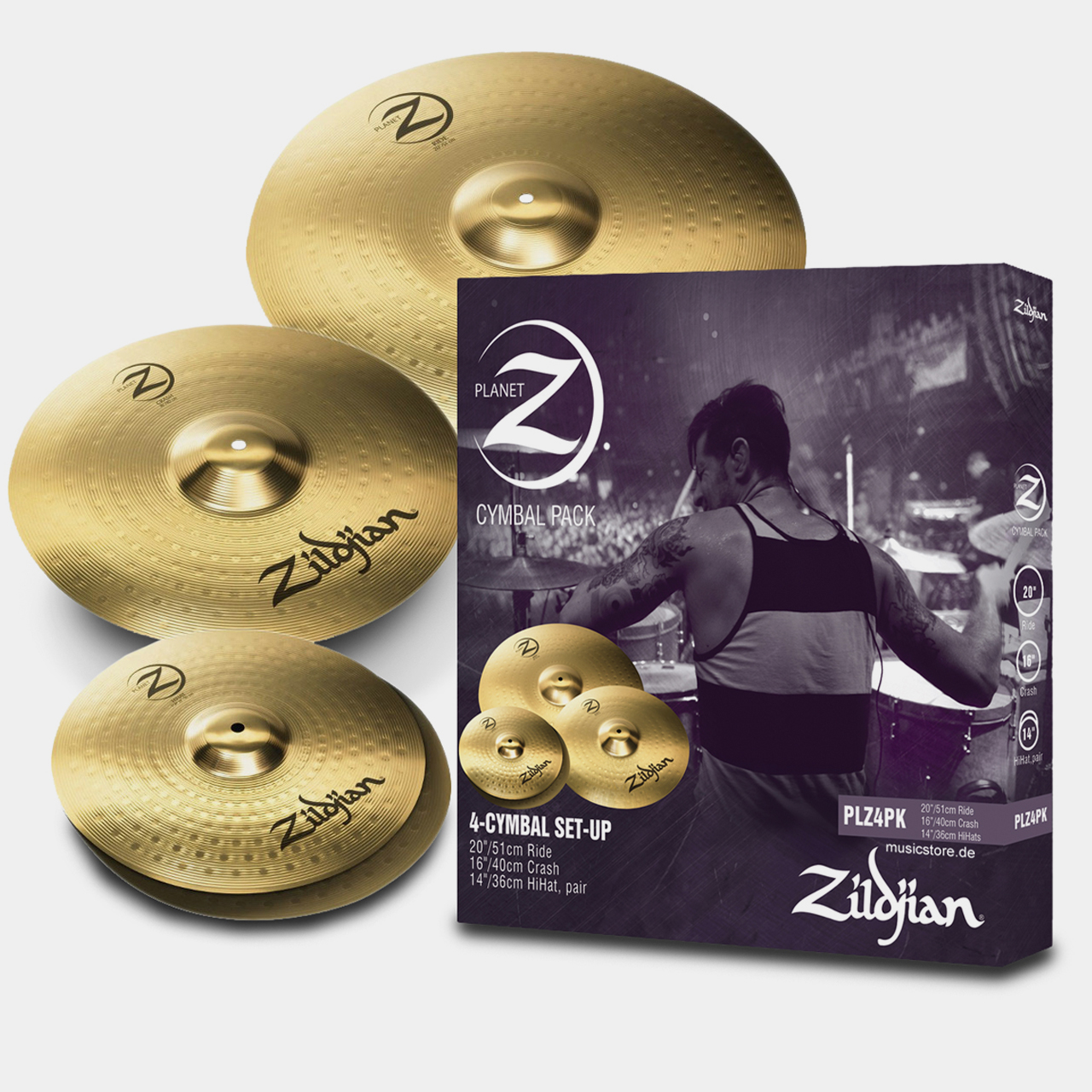Zildjian_Planet_Z_Set