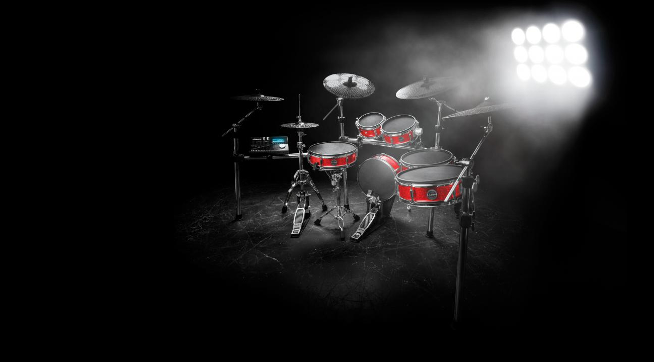 Alesis Strike Pro Kit on Stage