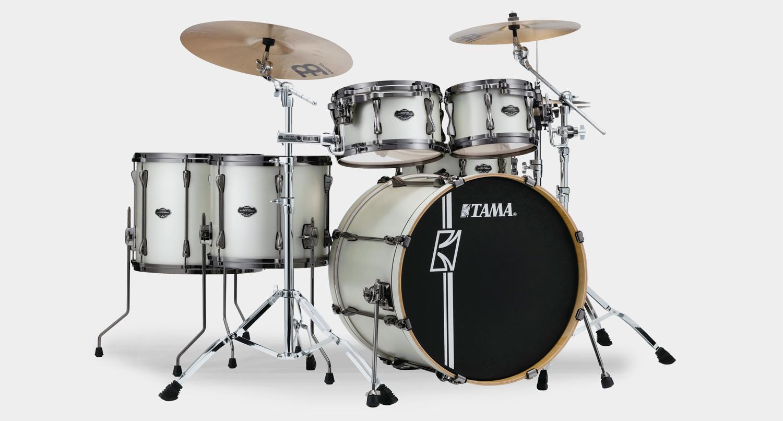 tama superstar hd ml52hlzbn satin arctic pearl black hw music store professional de de. Black Bedroom Furniture Sets. Home Design Ideas