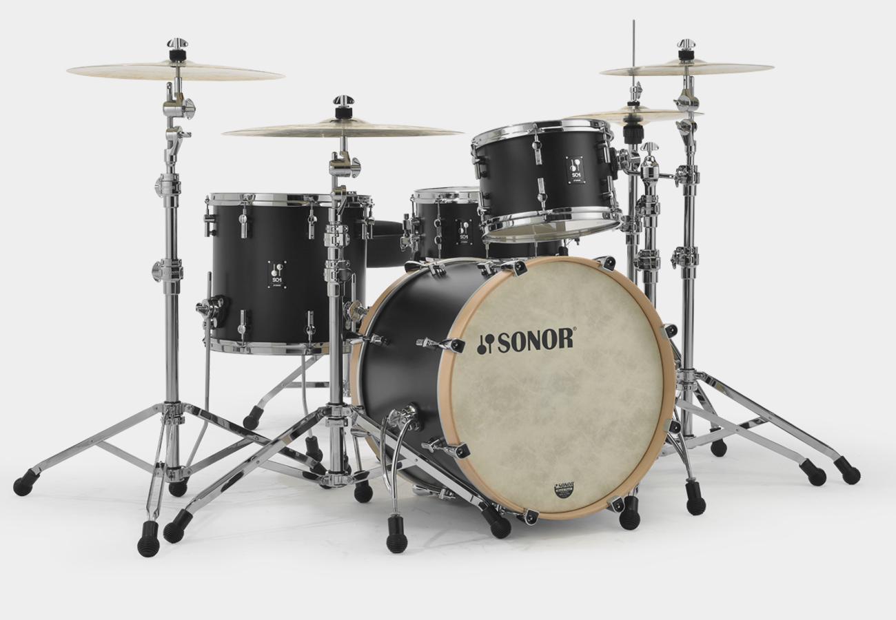 Sonor Sq1 320 Shell Set Gt Black Gtb