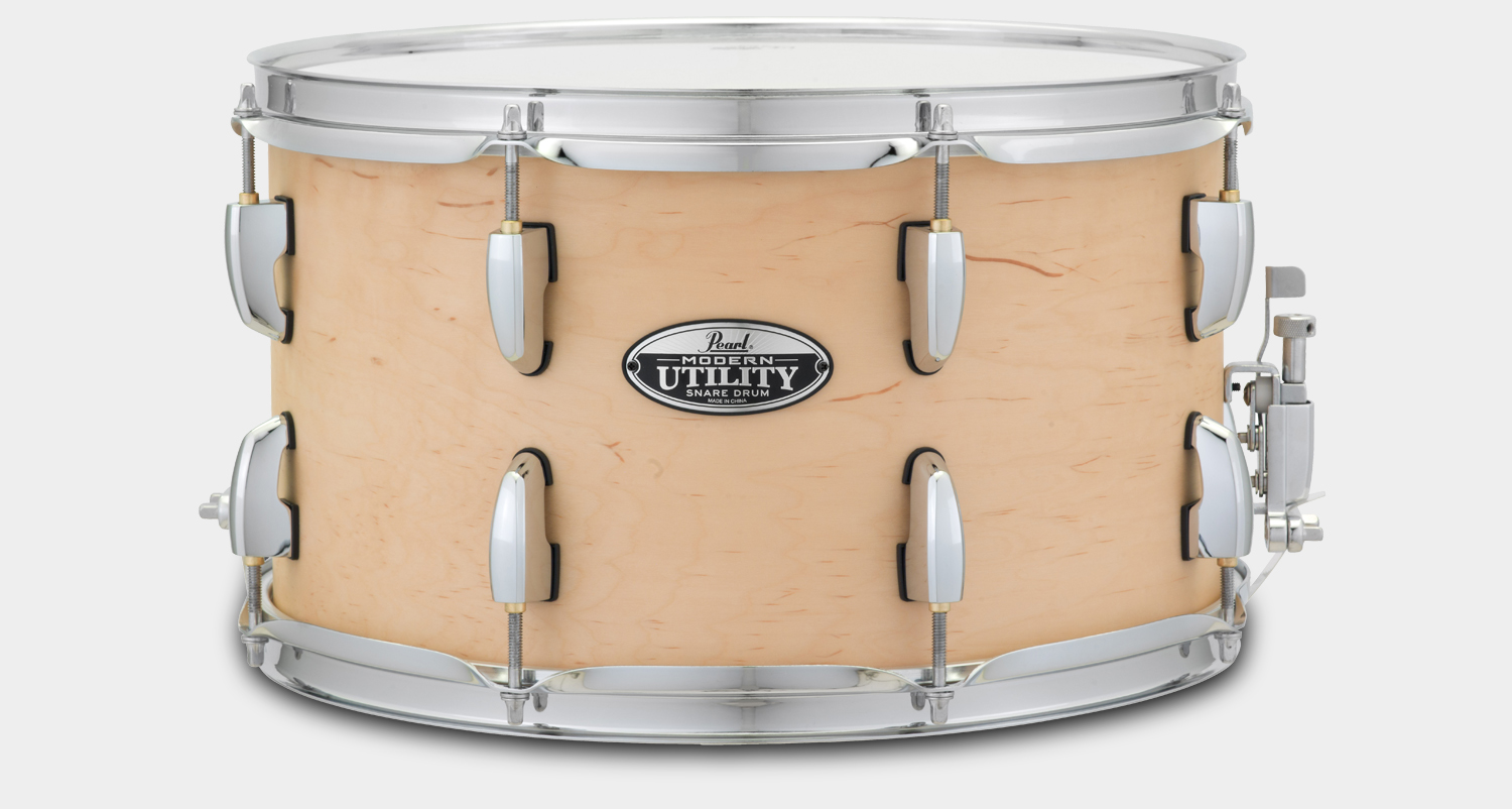 "Modern Utility Snare 14""x8"" Matte Natural"