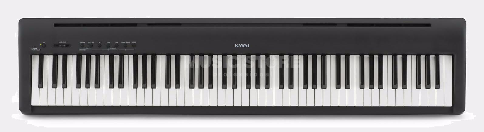kawai es100 digital piano black. Black Bedroom Furniture Sets. Home Design Ideas