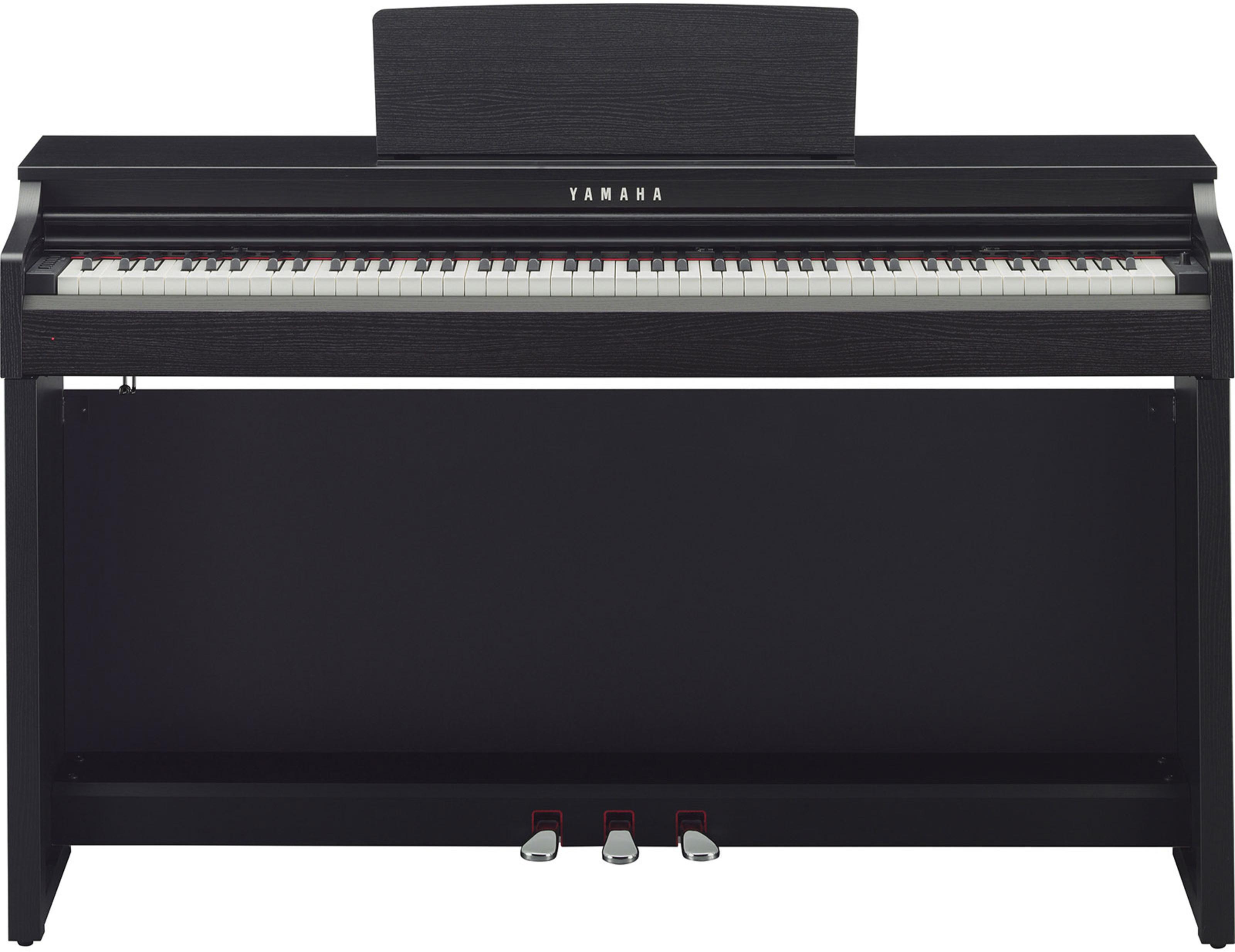 yamaha clavinova clp 525 b digitalpiano schwarz. Black Bedroom Furniture Sets. Home Design Ideas