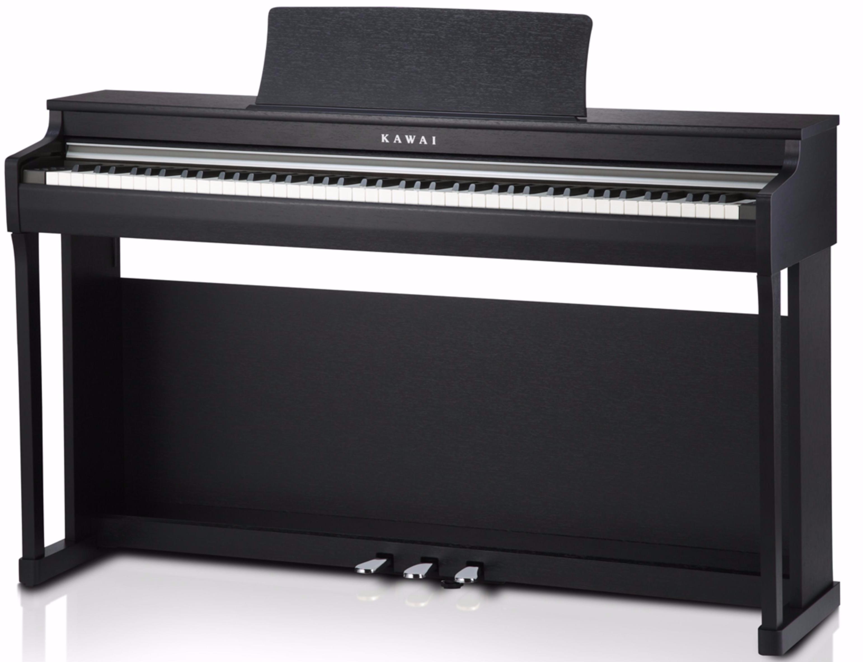 kawai cn 25 black digital piano schwarz. Black Bedroom Furniture Sets. Home Design Ideas