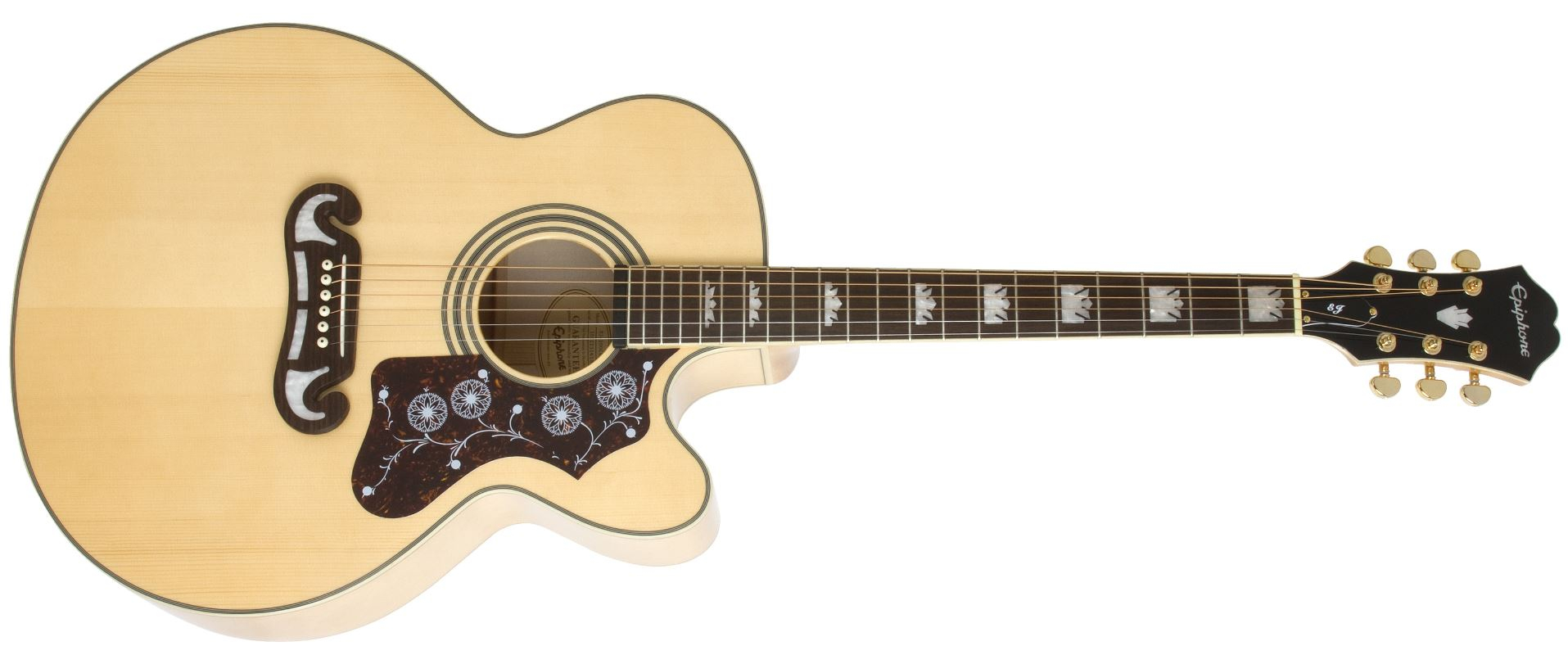 EPIPHONE EJ-200SCE NT Natural