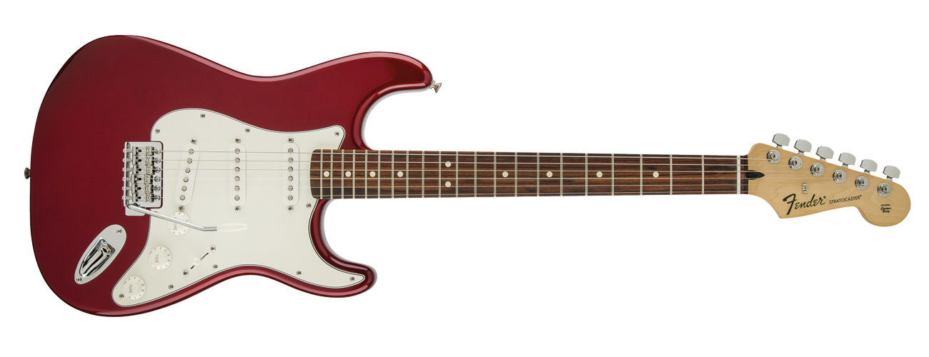 Fender Standard Stratocaster - Rosewood Fretboard - Candy Apple Red
