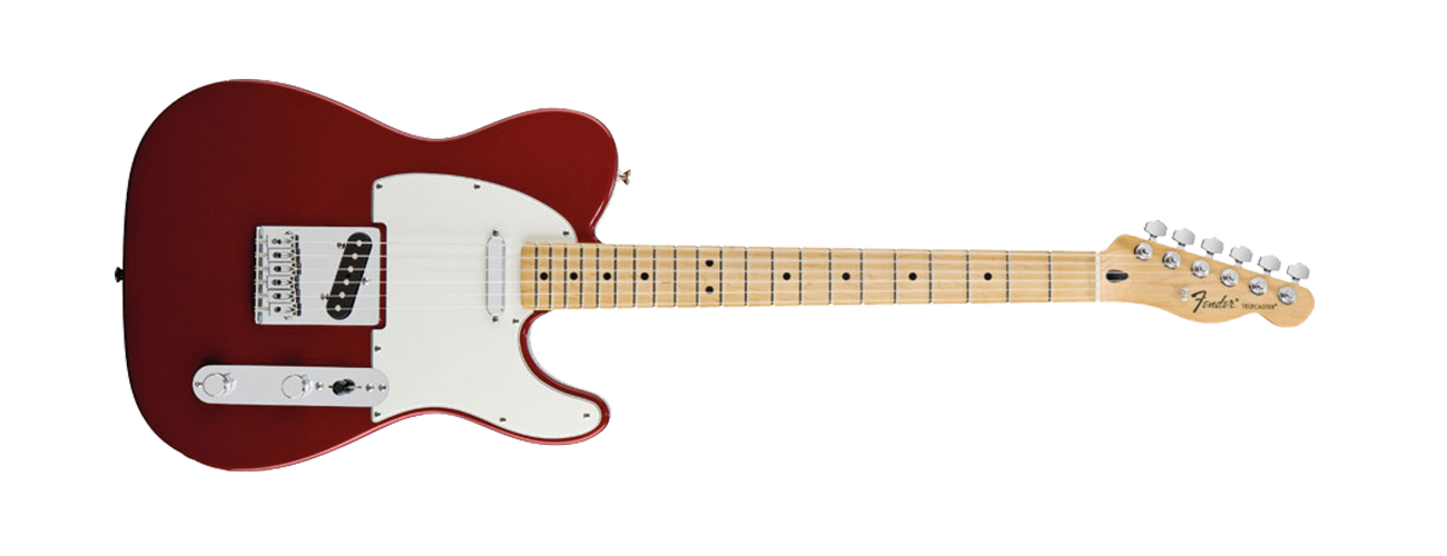 Fender Standard Telecaster - Maple Neck - Candy Apple Red