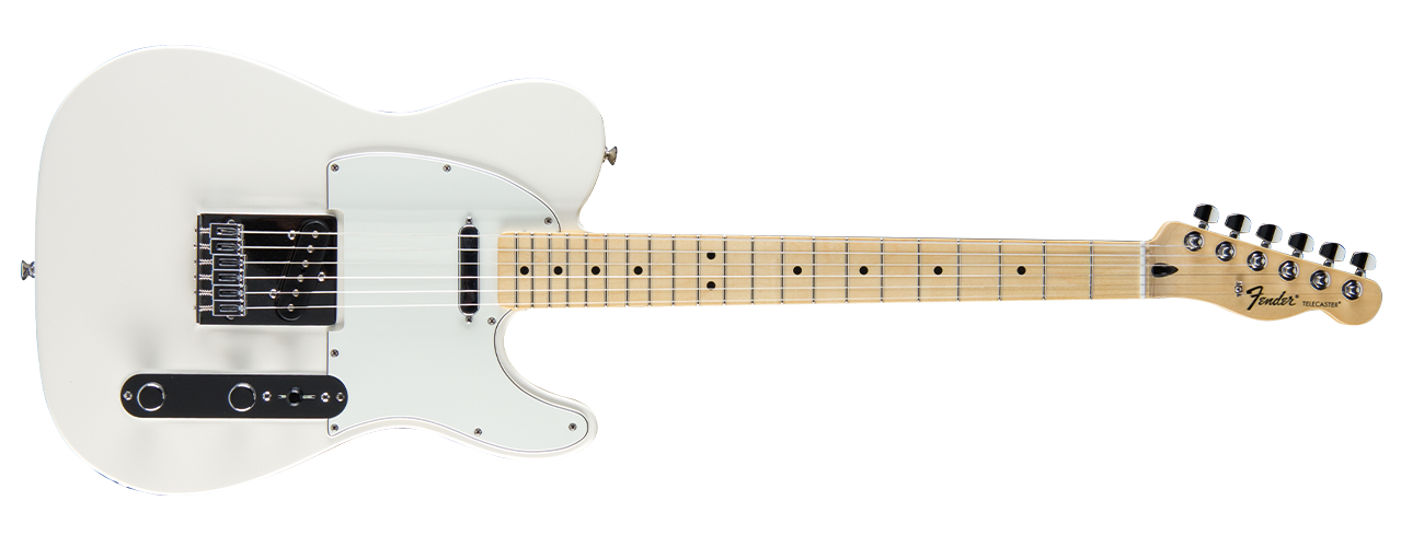 Fender Standard Telecaster - Maple Neck - Arctic White
