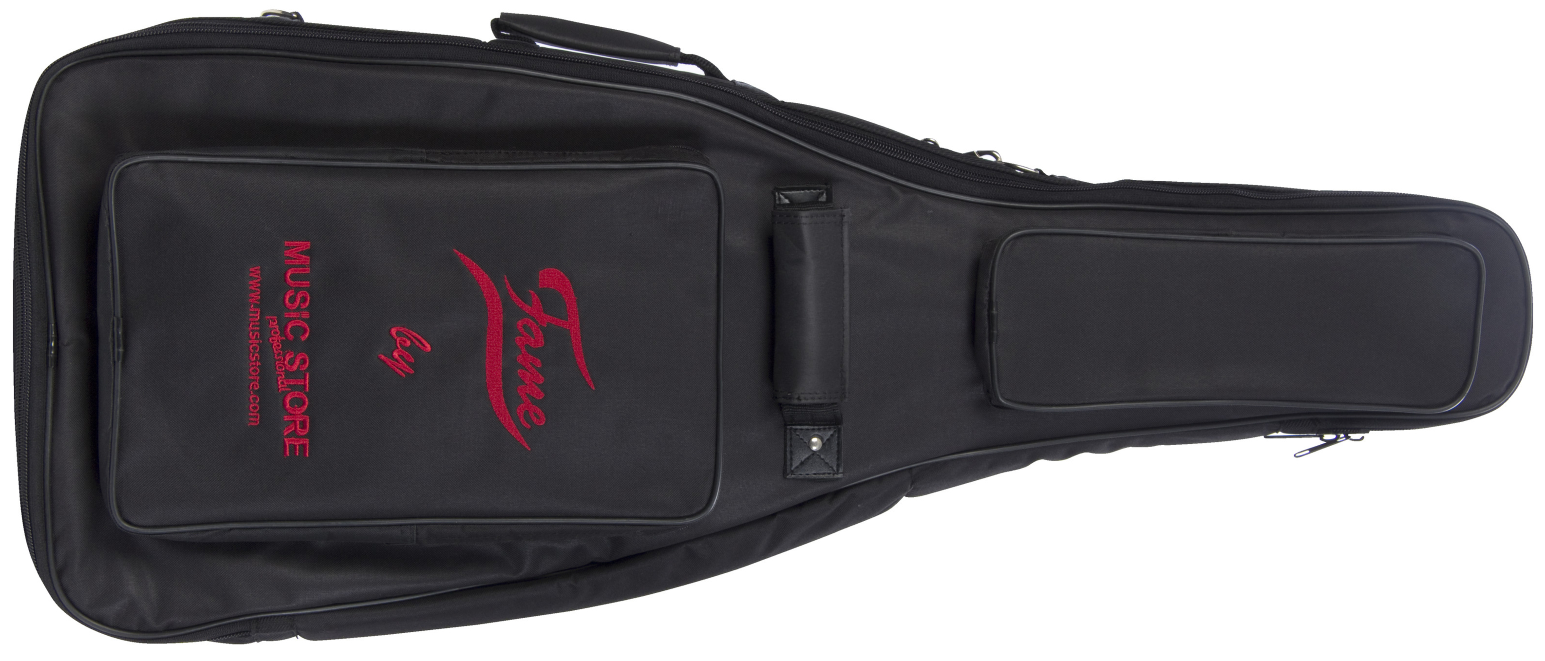 Fame Classic Gigbag Super Deluxe Black/Red Logo