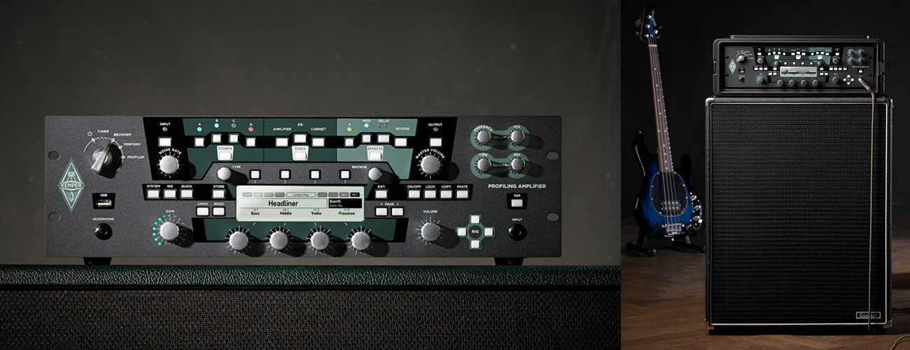 Kemper Amplifier Profiler Rack