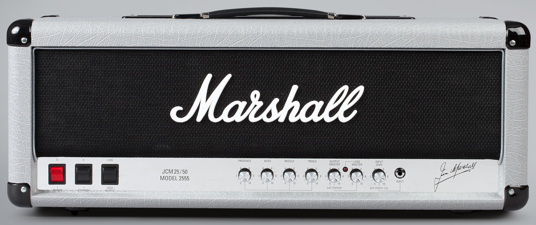 MARSHALL 2555X Silver Jubilee Reissue - Head Front