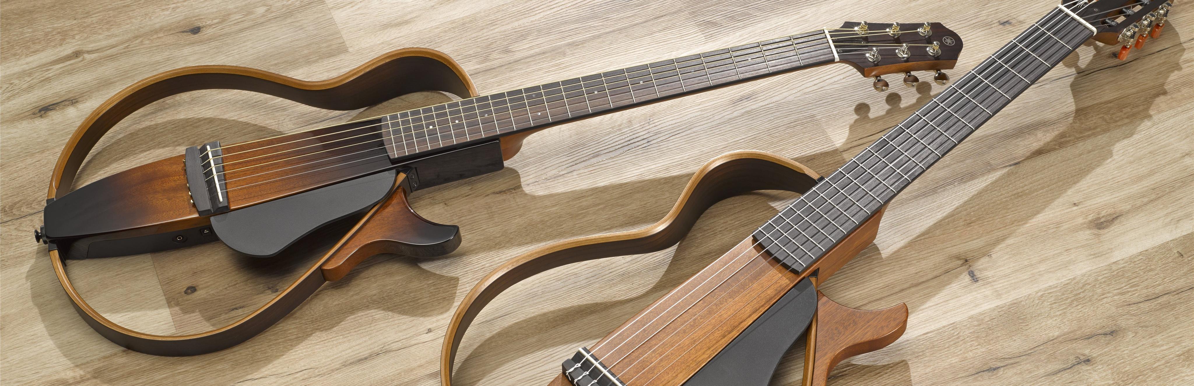 yamaha silent guitar slg 200 n translucent black nylon. Black Bedroom Furniture Sets. Home Design Ideas