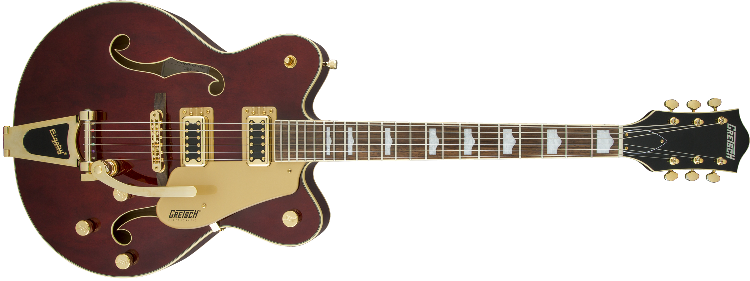 Gretsch G5422T Electromatic Hollow Body Double-Cut Bigsby Walnut Stain