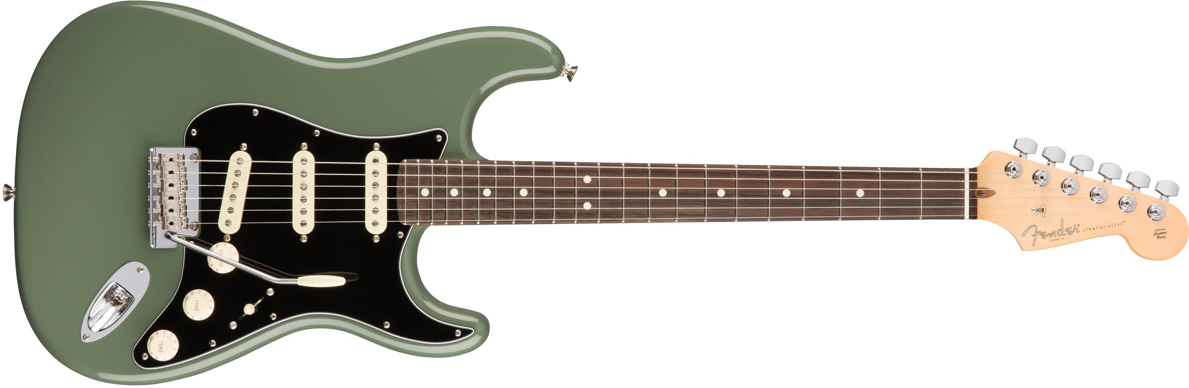 Fender American Professional Stratocaster RW Antique Olive