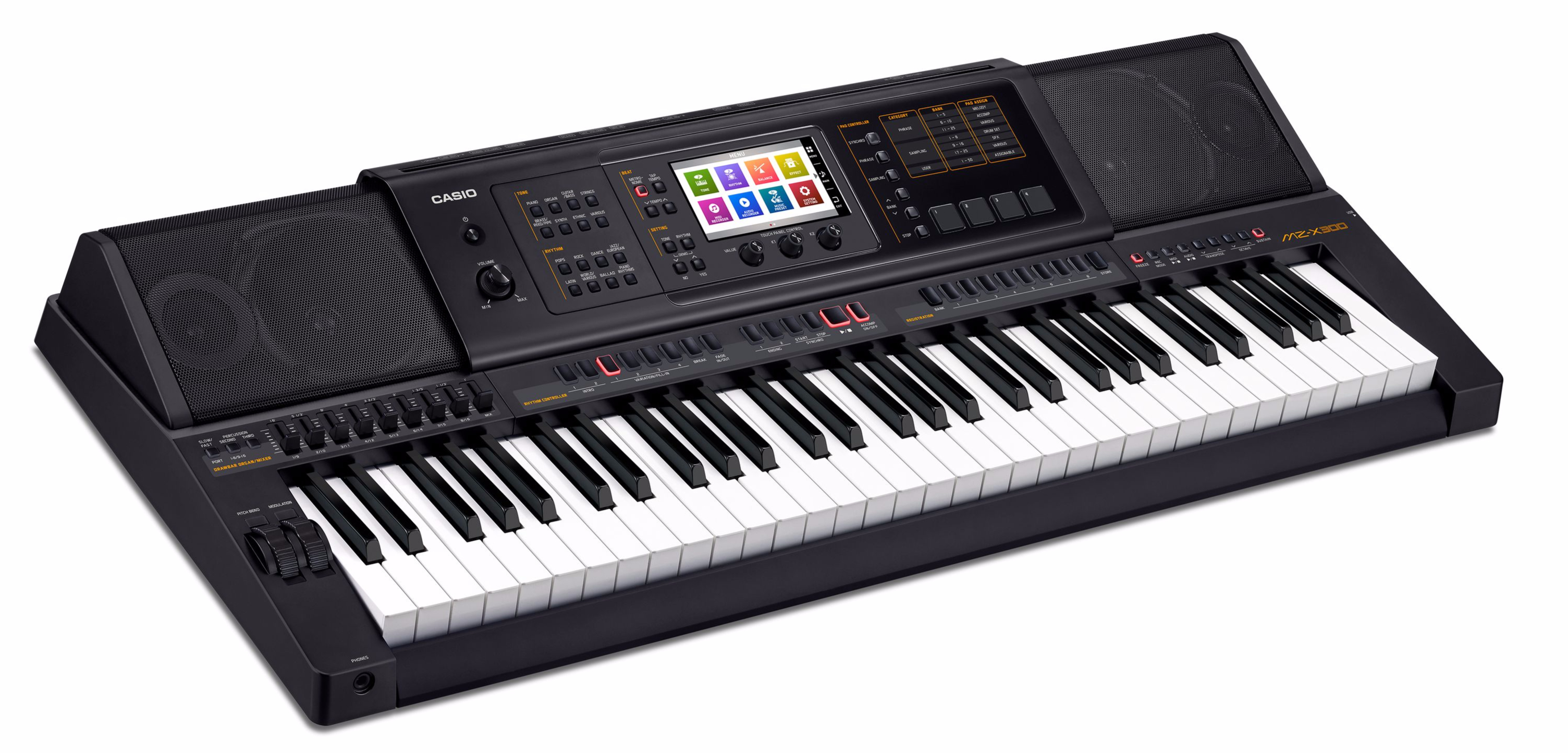 Casio MZ-X300 Premium Entertainer Keyboard