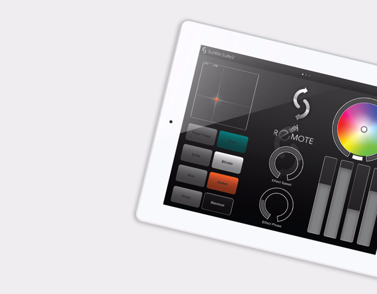 Sunlite Suite 2 Tablet Steuerung