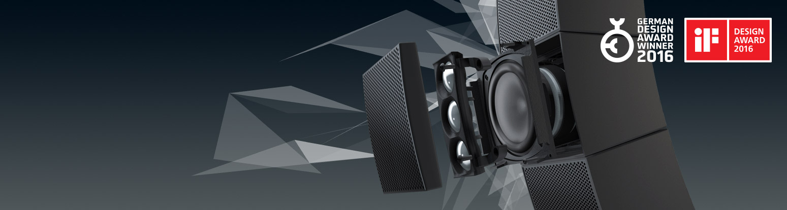 LD-Systems CURV 500 SE Subwoofer Header