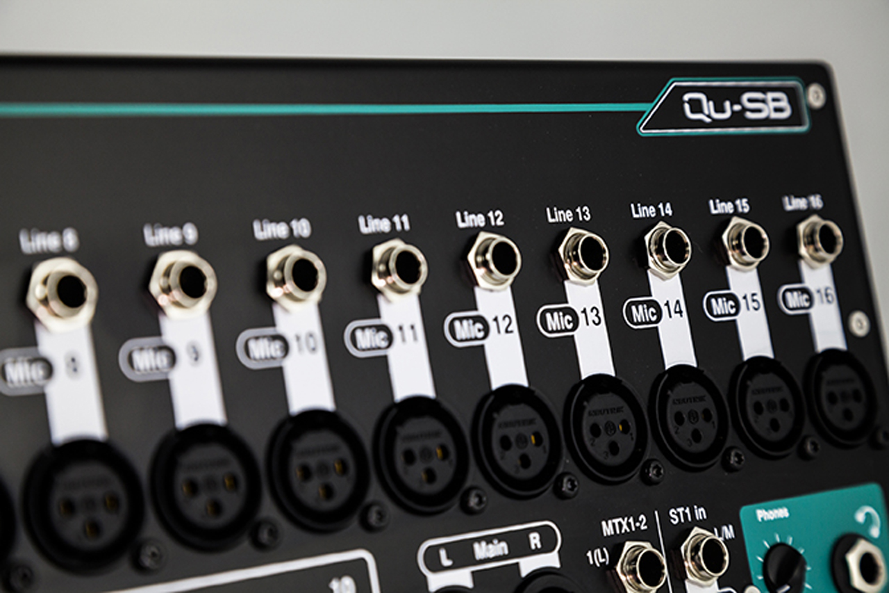 Allen&Heath Qu-SB Channels