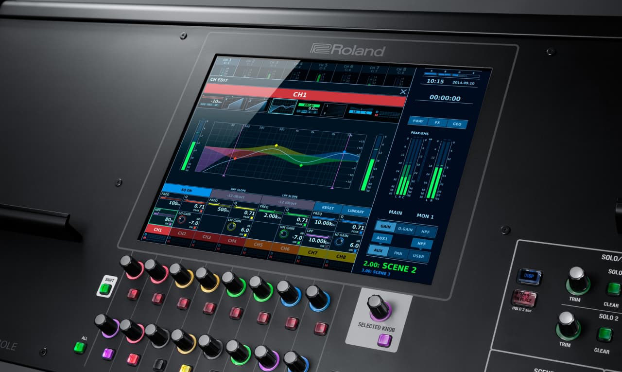 Roland M-5000 Touch Screen