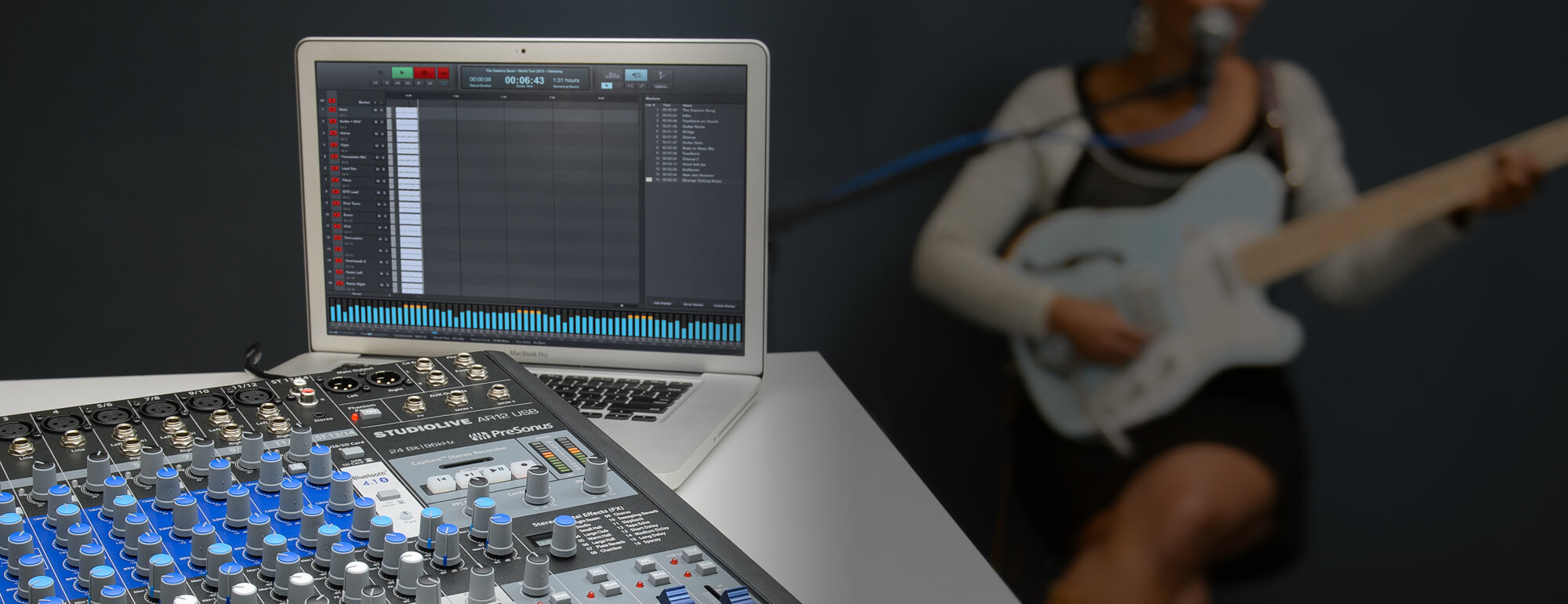 PreSonus StudioLive AR 8 USB Multitracker