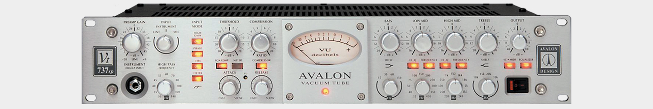 Avalon Design VT-737SP Channelstrip