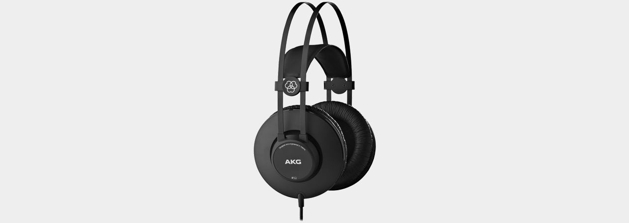 AKG K 52 Closed Back Headphone