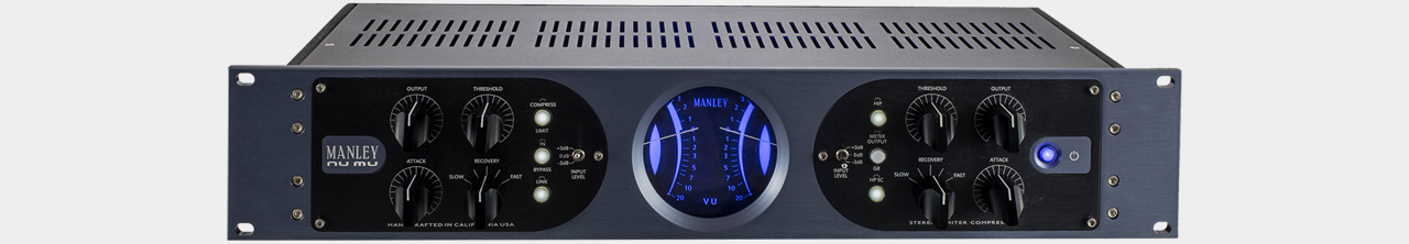 Manley NuMu - Two Channel Compressor with hybrid ciurit design