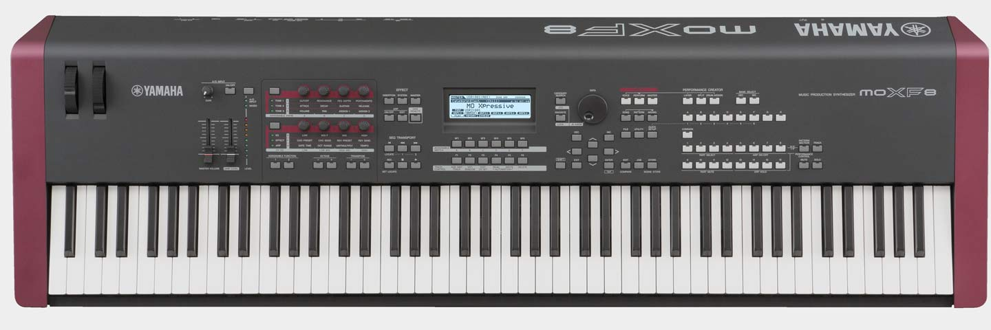 Yamaha MOXF8 Synthesizer Workstation
